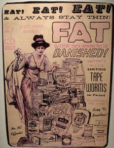 fat loss supplement ad - old