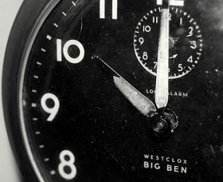 ten minute workout blog clock