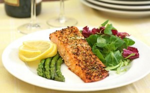 low carb fish meal