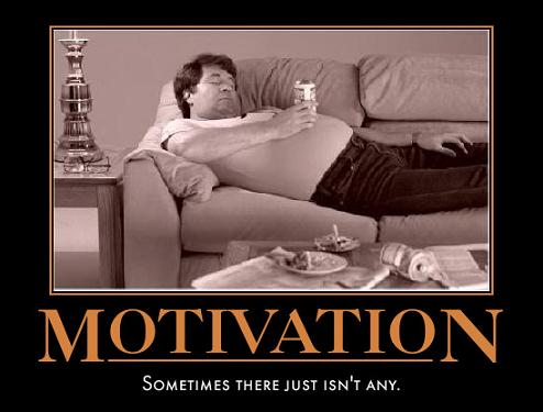 no motivation to lose weight