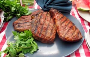 wild meat steak