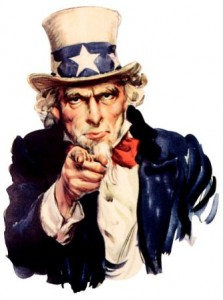 uncle sam pointing finger at you