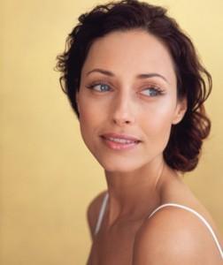 glowing natural skin