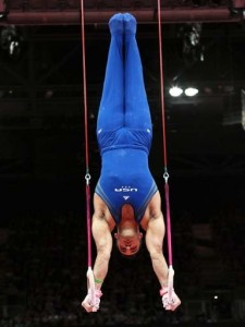 freestanding handstand on rings