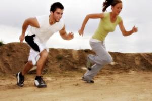 interval training race