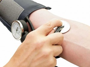high blood pressure cuff