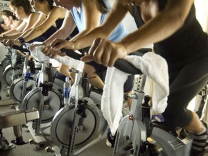 spin class interval training