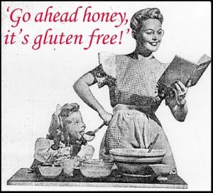 gluten free baking vintage