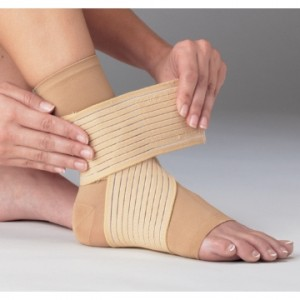 RICE ankle wrap