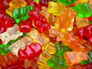 sugar gummy bears