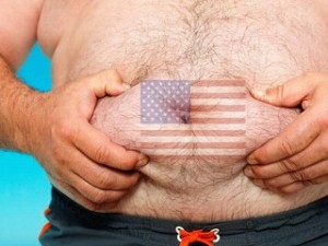 fat flag stomach